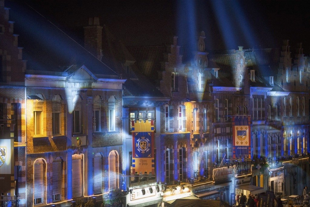 marche des illuminations de tournai centre