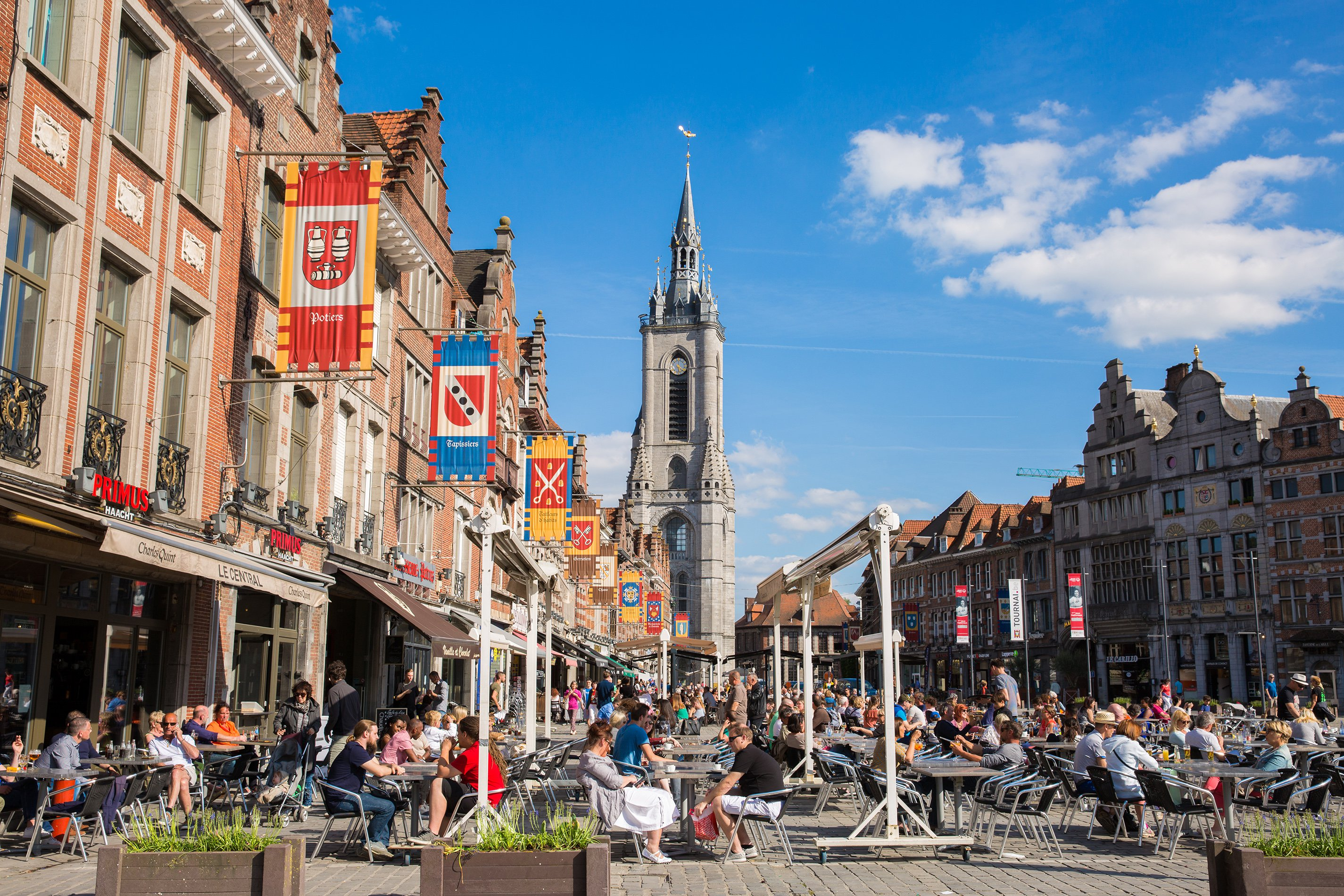 La Grand-place de Tournai